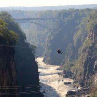 zip-line - victoria falls