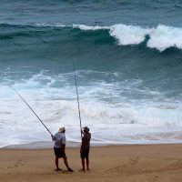 fishermen - south coast - natal