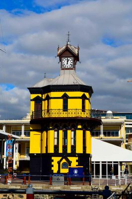 clock tower – V&A waterfront – cape town – DSC_1905j