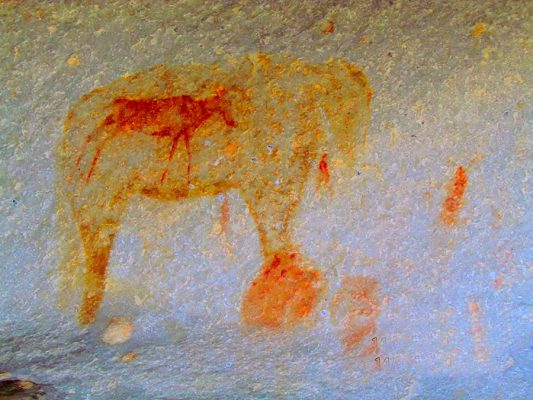 rock painting – breede river valley – IMG_0614j