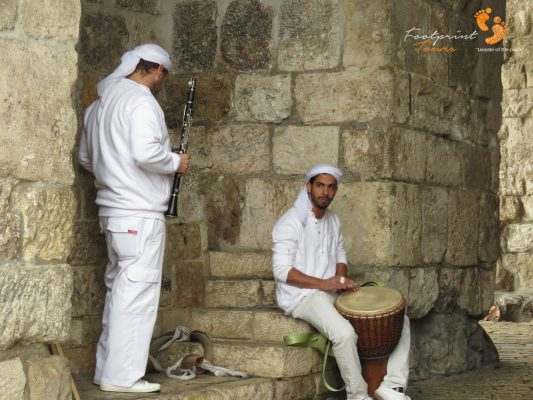 musicians at Jerusalem gate – IMG_6798