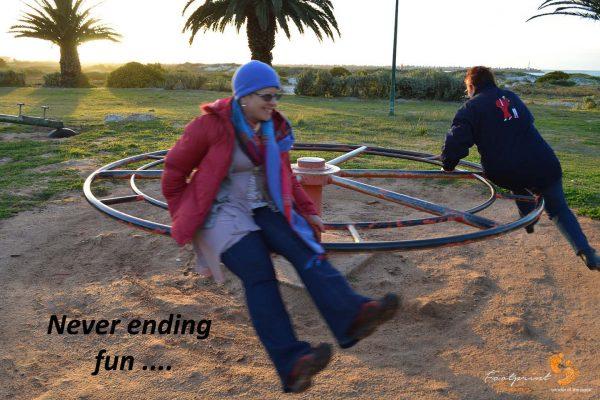 never ending fun.