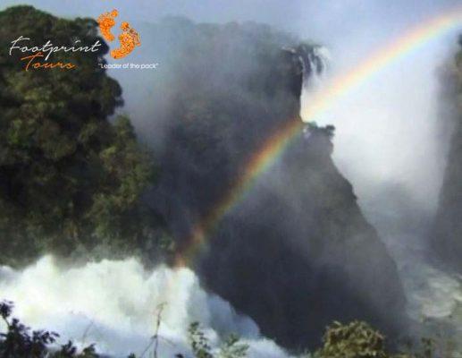 2. rainbow over vic falls
