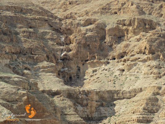 caves in Mount of Temptation – Jericho – Israel – IMG_6386