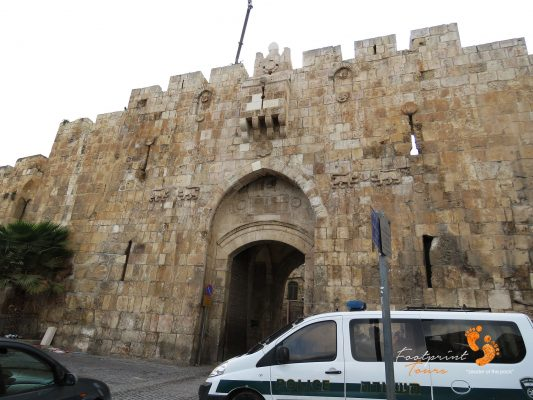 lions gate – Old City Jerusalem – IMG_6612